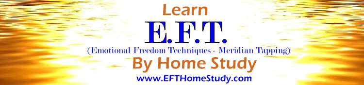 Learn E.F.T (emotional freedome techniques - Meridian Tapping) by Home Study